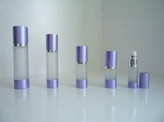 Cylinder Shaped Airless Dispensing Bottle