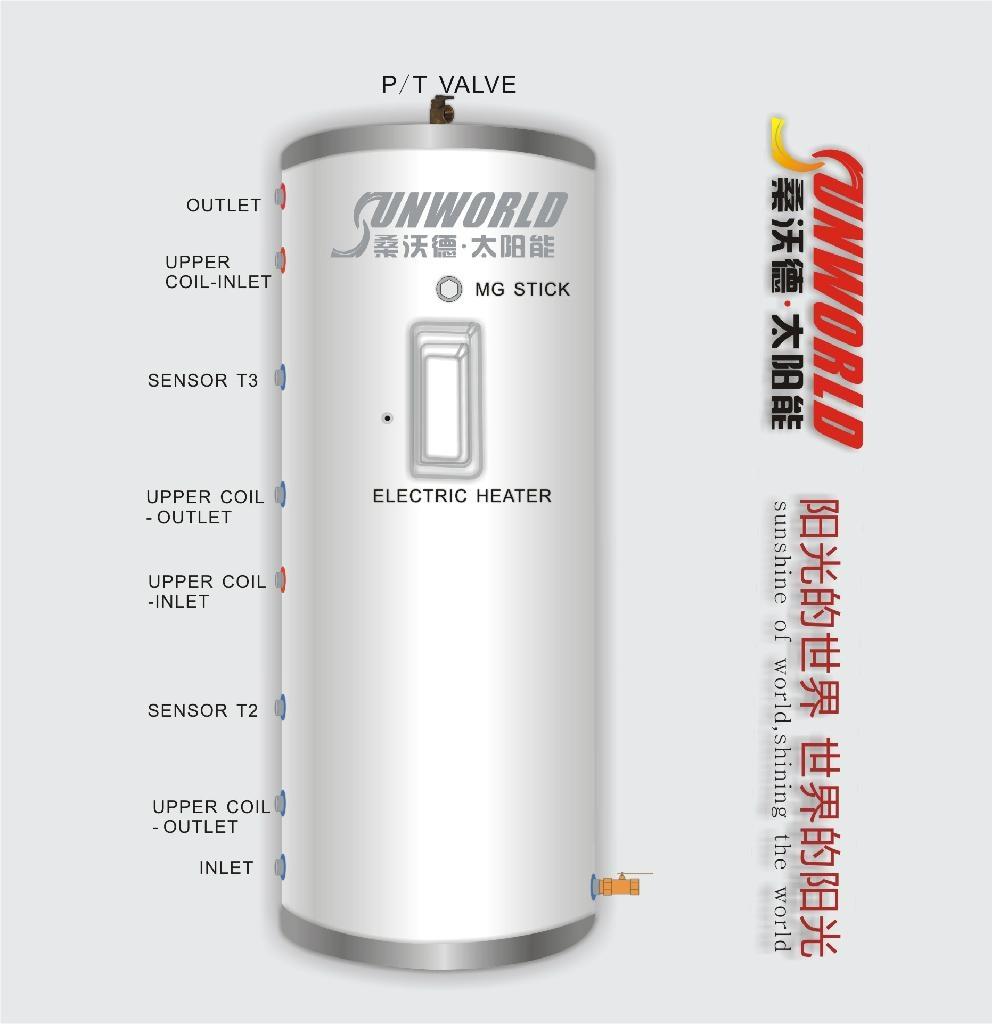 分体承压太阳能热水器 3