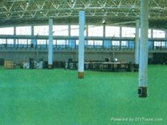 環氧彩砂型地坪塗裝系統