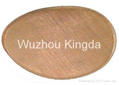 Bronze Woven Mesh 4