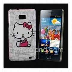 Hello Kitty Pattern Cartoon Hard Cover Case for Samsung Galaxy S I9000
