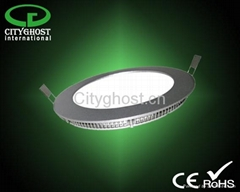 IP44 class II Remote controlled Dimmable LED Round Panel 18 24 30 cm 12 15 18 w