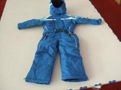 儿童連體滑雪服