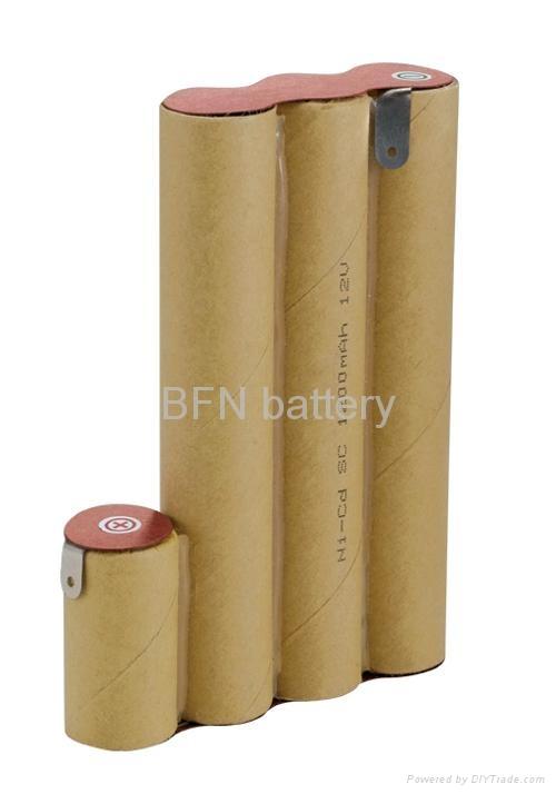 镍镉SC1200mAh 12V电动工具用电池组 1