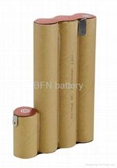 镍镉SC1200mAh 12V电动工具用电池组