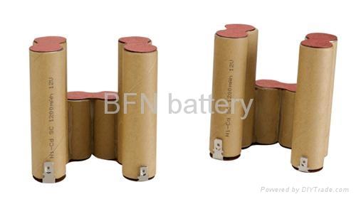 镍镉SC1200mAh 12V电动工具用电池组 2