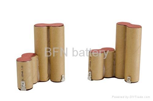 镍镉SC1200mAh 12V电动工具用电池组 3