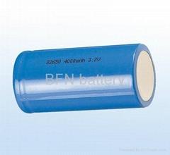 32650 4000mAh 3.2V磷酸铁锂电池