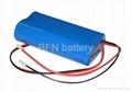 18650 4400mAh 3.7V Lithium battery packs