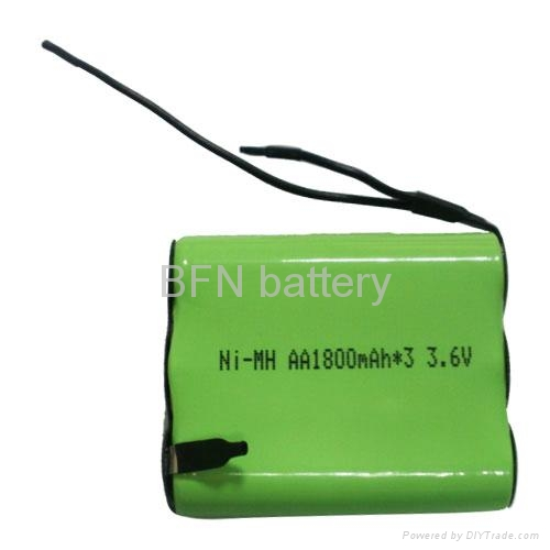 Nimh Aa Rechargeable Battery Pack For Emergency Lighting