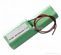 镍氢便携式吸尘器用电池