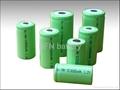Ni-MH SC/C/D Size rechargeable batteries