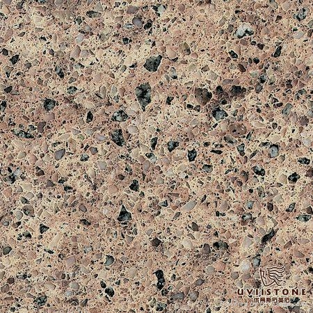 Engineered Quartz Countertop Brown Color Uviistone
