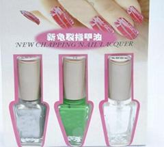 green rimous nail polish