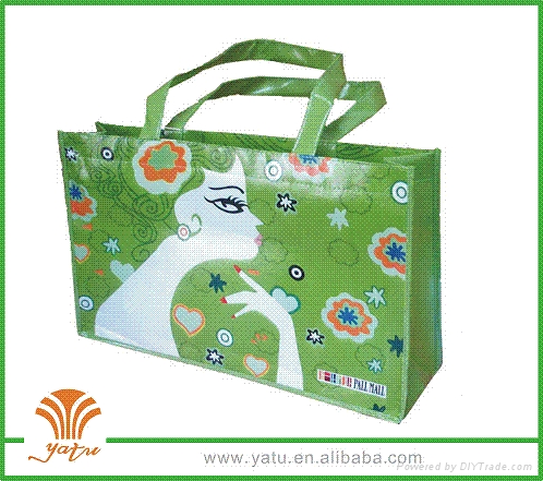 镭射腹膜环保袋 1