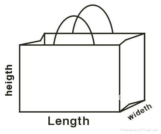 镭射腹膜环保袋 3
