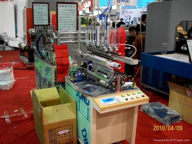 PET/PVC塑料圓筒刷膠機 4