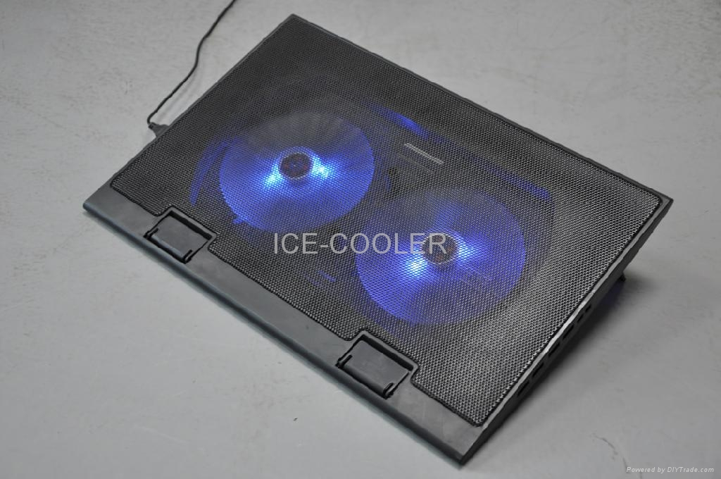 Notebook cooler fan adjustable angles for different customers 1