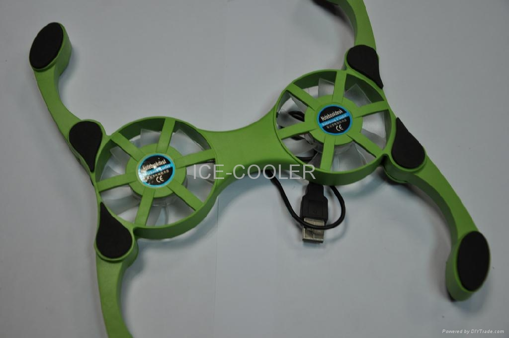 ICE-COOLER mini notebook cooler fan HDW- 1