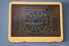 Colorful Notebook cooler fan adjustable angles for different customers