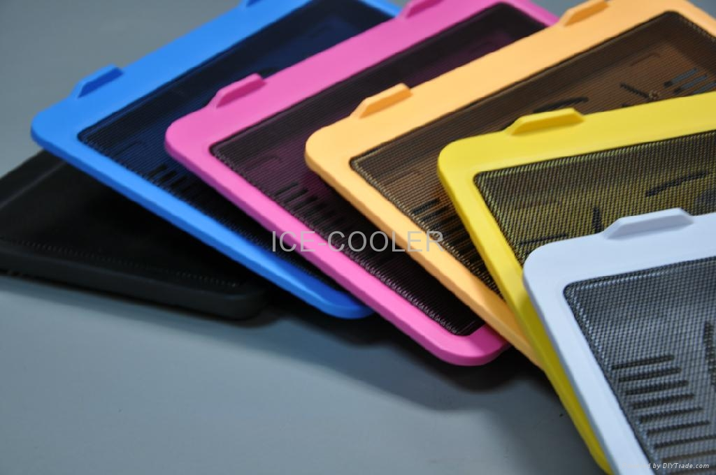 Colorful Notebook cooler fan adjustable angles for different customers 3