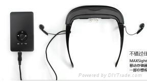 愛視代MaxsightHD920頭戴3D顯示器 1