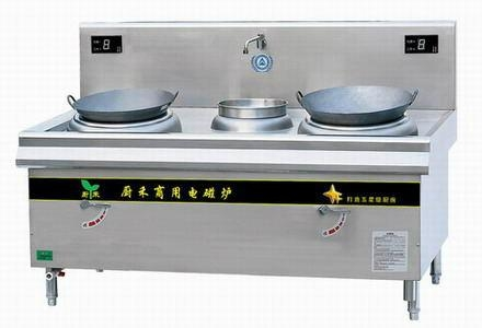2 Burners Commercial Induction Stove 1