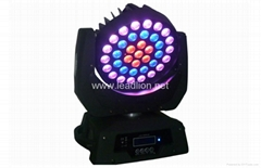 37pcs of 9W Trip color LED Moving head stage light