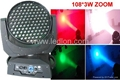 108pcs of 3W RGBW Zoom LED moving head wash  (Hot Product - 1*)