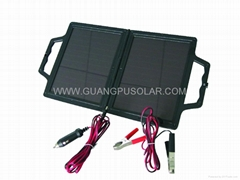 4W Amorphous Solar Foldable Car Battery, Trickle Charger 12V (GP-E001B)