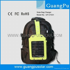 PORTABLE BAGPACK SOLAR CHARGER