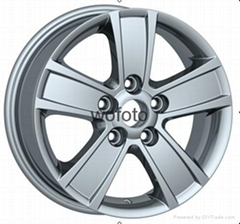 "15"" SKODA alloy wheel"