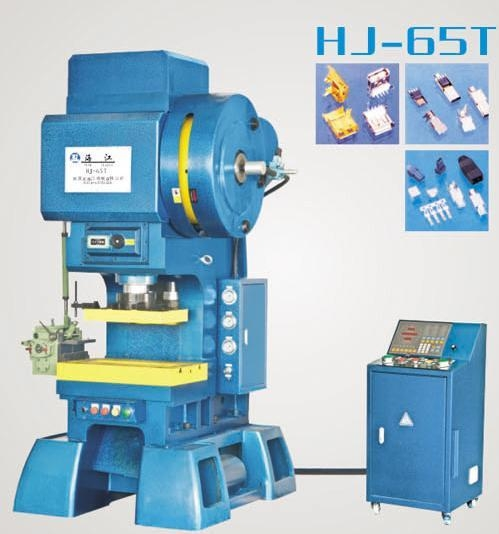 C型三圓導柱式高速精密沖床HJ-65T 1