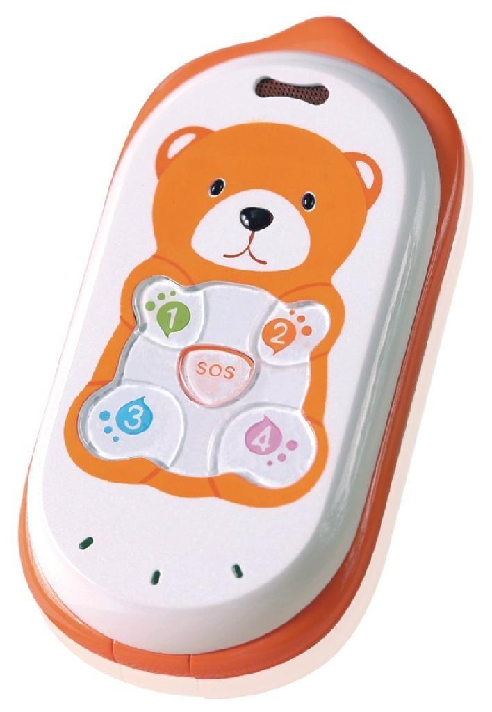 帶考勤功能的GPS定位儿童手機 1