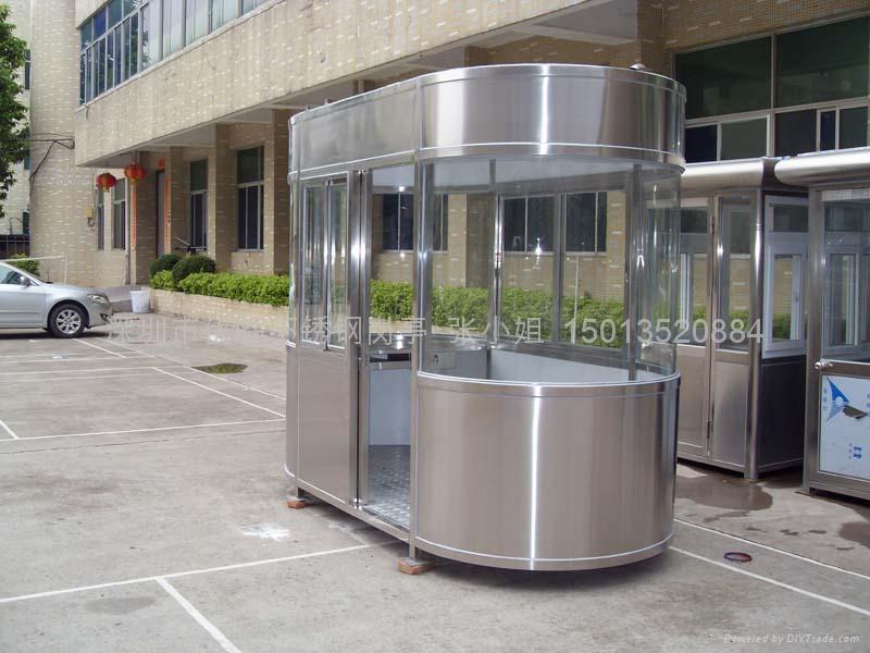 停車場不鏽鋼崗亭訂購價格 1