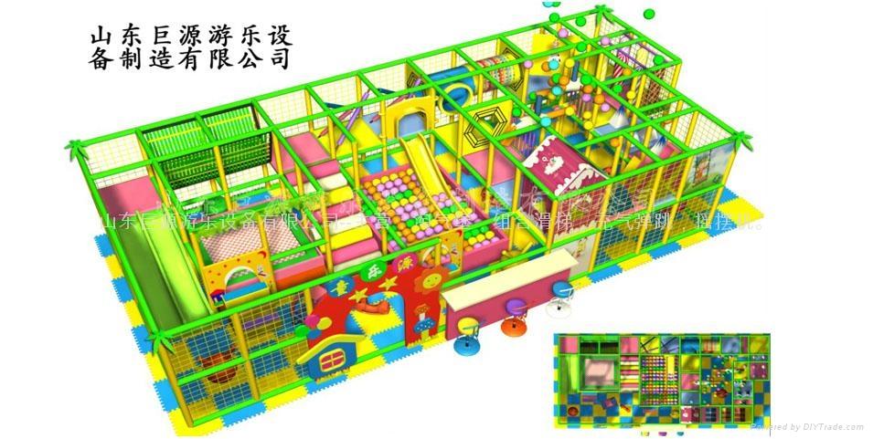 儿童淘气堡厂家 1