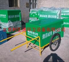 廠家供應玻璃鋼手推保潔車