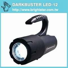 DARKBUSTER 12W LED Waterproof Torch Light