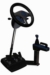 便携式汽车驾驶模拟训练机