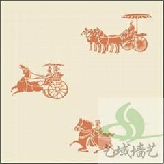 广州印花模具丝网模具液体壁纸工具艺域壁纸漆工具