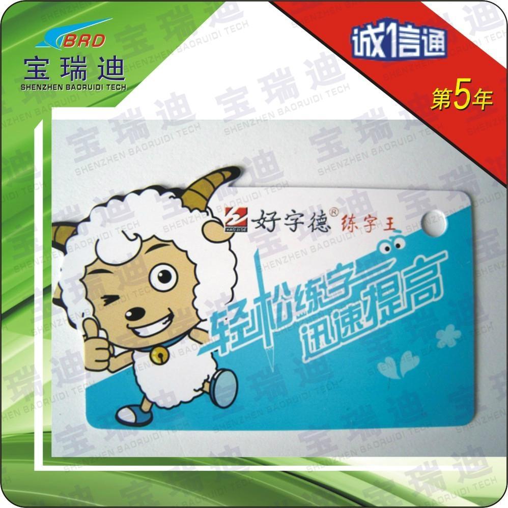 非标迷你PVC印刷卡 2