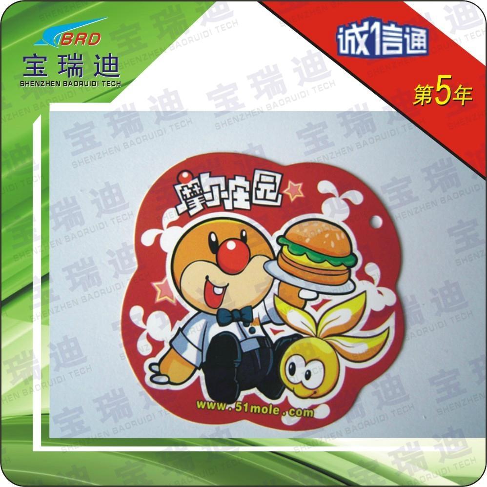 非标迷你PVC印刷卡 4