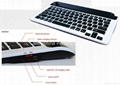 Portablet Bluetooth Keyboard for iPad/Galaxy Tablet PC (IOS, android, windows) 1