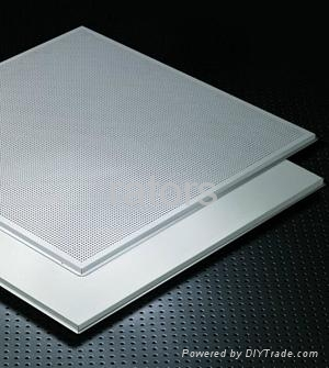 Snap On Lay In Metal Ceiling Tiles Semi Concealed Frame