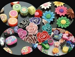 Fashion handmade jewelry fimo components jewelry findings