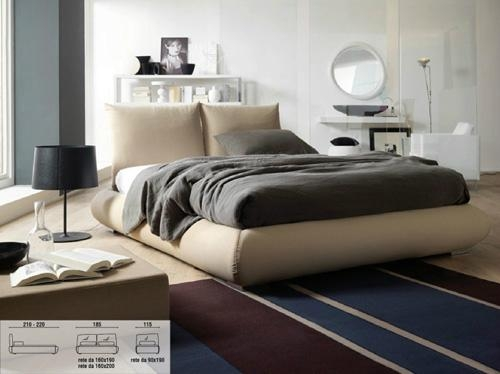 Upholstered Bed Italian Design Beds Bellatrix