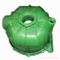 injection molded pump shell