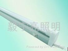 T5 0.6米透明3528 90燈日光燈 1