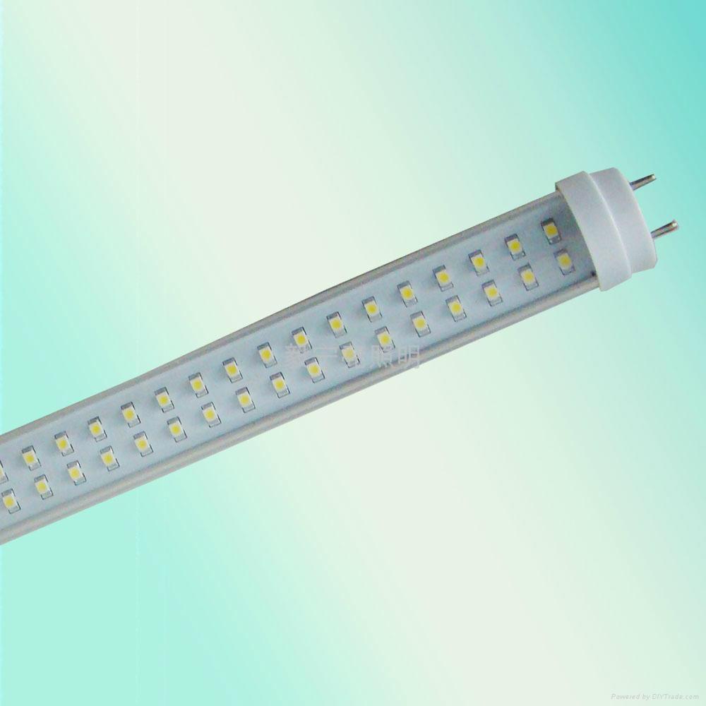 T8 0.6米透明3528 120燈日光燈 1