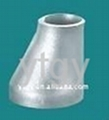 304 BW stainless steel eccentric reducer